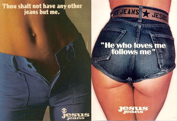 Jesus Jeans ads