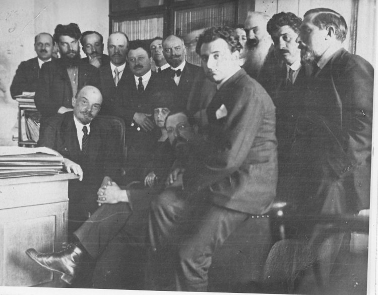 A.Graziadei & Lenin Mosca 1920 copy